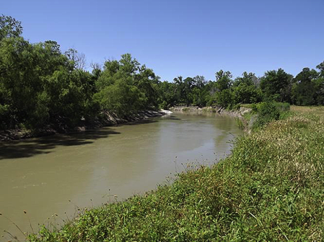 Guadalupe River Oxygen and Temperature Water Quality Model
